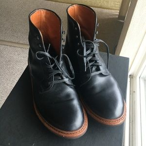 Mens Allen Edmonds Higgins Mill Boots Size 10